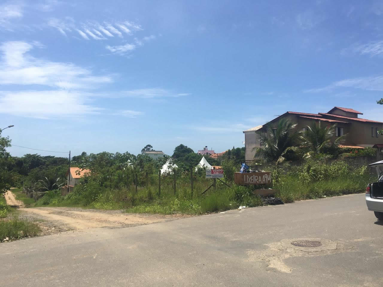 Lote Mar Azul – Rua Espírito Santo com Rua Paraíba